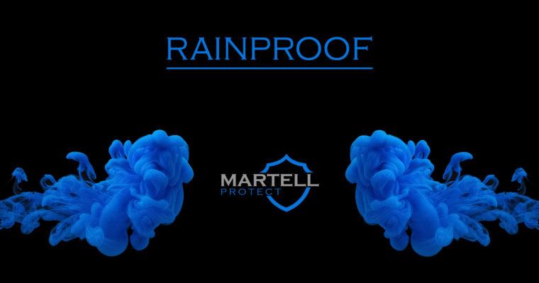 MARTELL PROTECT RAINPROOF – ELASTICS RIBBONS WITH RAINPROOF FINISH