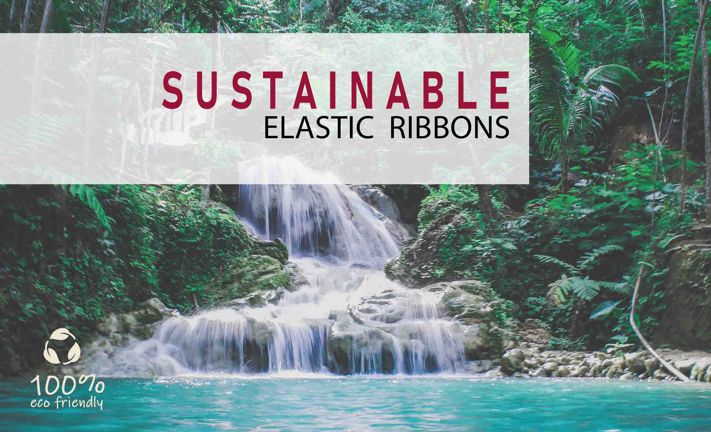 SUSTAINABLE ELASTIC RIBBONS. OBJECTIVE: SAVE THE PLANET